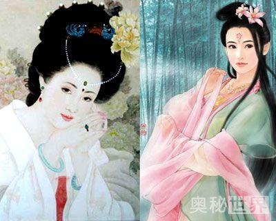杨贵妃与赵飞燕不孕之谜 图图片