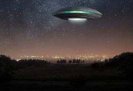 UFO或导致神秘空难将近800航班遇不明光线