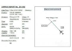 英A320客机险撞UFO 雷达没有显示