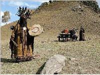 蒙古族可怕的殡葬文化习俗(图)