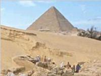 揭秘埃及金字塔是怎样建成的(图)