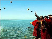 青海湖祭海传统仪式(图)