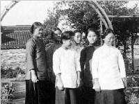 """组图:历史上的""""金陵十三钗""""真实画面"""