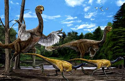 白垩纪恐龙有哪些 白垩纪时代最强大的恐龙 第2页 奇趣生物 奥秘世界