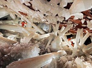 世界地质奇观之墨西哥巨型水晶洞(图)