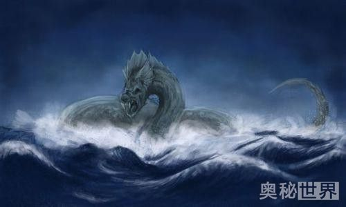 尘世巨蟒,远古神话中的怪物