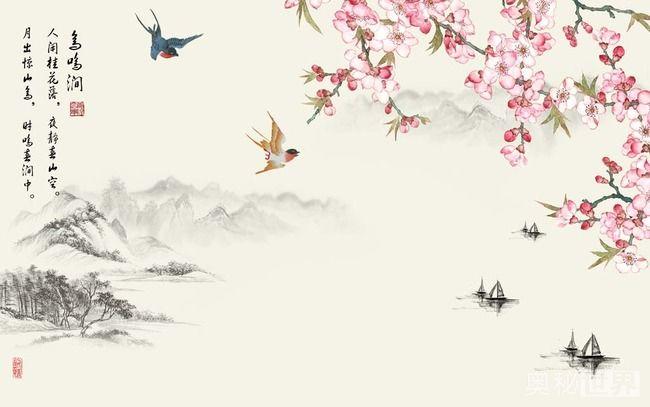 鸟鸣涧的诗意,鸟鸣涧的意思